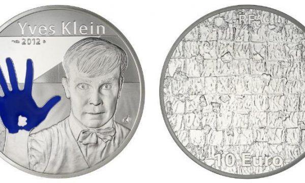Francia, 10 euro per Yves Klein