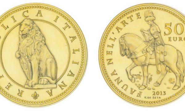 "Italia, 50 euro 2013 ""Fauna nell'arte"""
