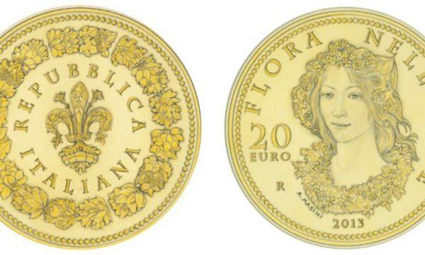 """Italia, 20 euro 2013 """"Flora nell'arte"""""""