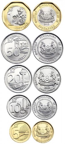 New Circulation Coins For Singapore