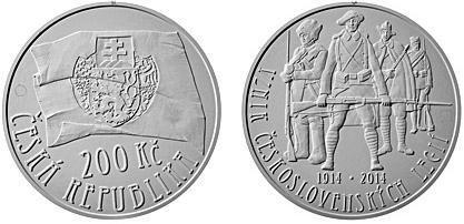 Repubblica Ceca, moneta per le Legioni cecoslovacche
