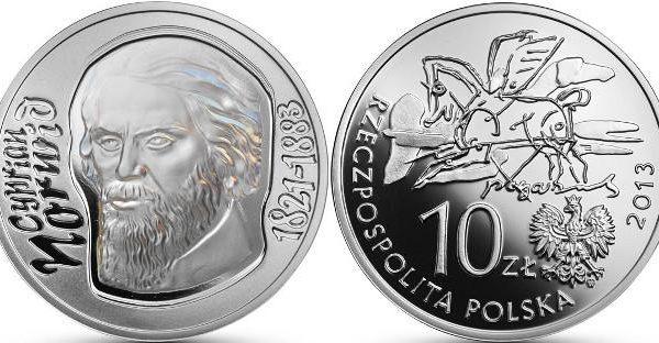 Polonia, monete per il poeta Cyprian Norwid