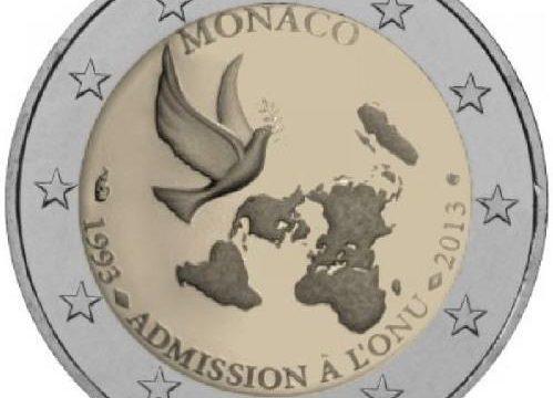 Monaco, 2 euro commemorativo 2013