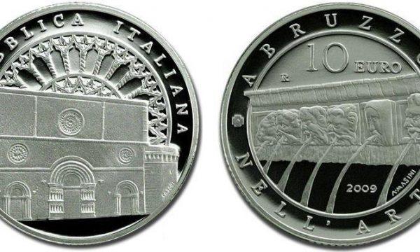 La moneta per la ricostruzione dell'Aquila