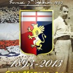 San Marino, stamp for 120 years of Genoa