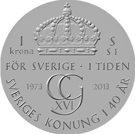 Svezia, 40 anni di regno per Carlo XVI Gustavo