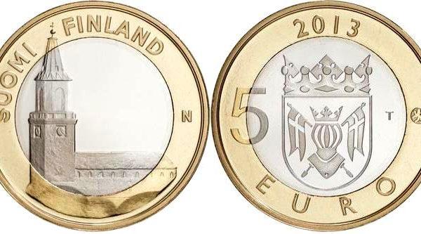Finlandia, moneta per la cattedrale di Turku