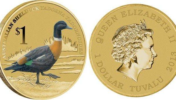 Tuvalu, moneta per la casarca australiana