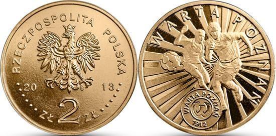 Polonia, moneta per il Warta Poznan