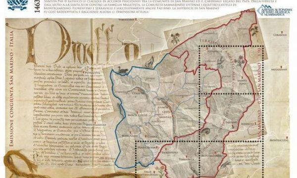 Francobolli per i patti di Fossombrone (1463)