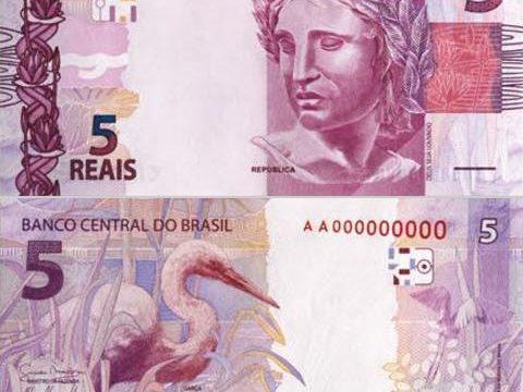 Brasile, nuove banconote da 2 e 5 reais