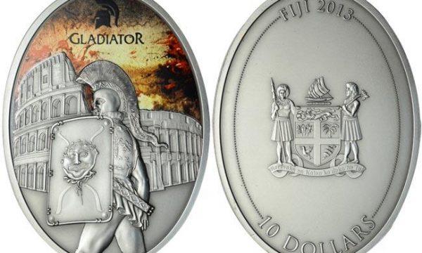 Fiji, un'oncia d'argento per i gladiatori