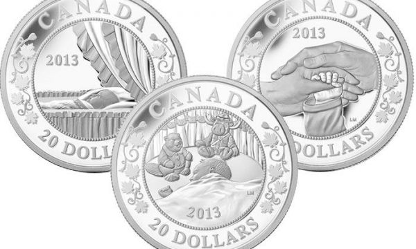 Canada, monete per il principe George