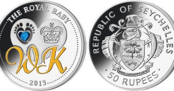 Seychelles, moneta per il principe George