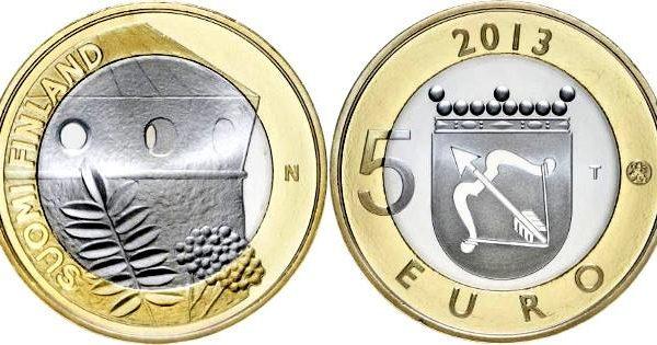 Finlandia, 5 euro per l'Olavinlinna