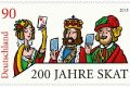 Germania, francobollo per lo skat