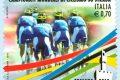 Francobollo per i mondiali di ciclismo 2013