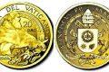 Vaticano, 20 euro in oro per papa Giulio II