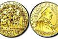 Vaticano, 50 euro in oro per papa Leone X