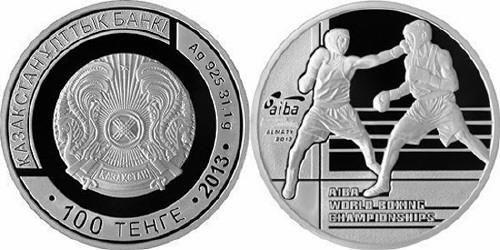 Kazakistan, moneta per i mondiali di boxe
