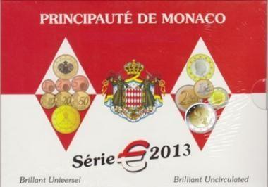 Monaco, serie divisionale FDC 2013