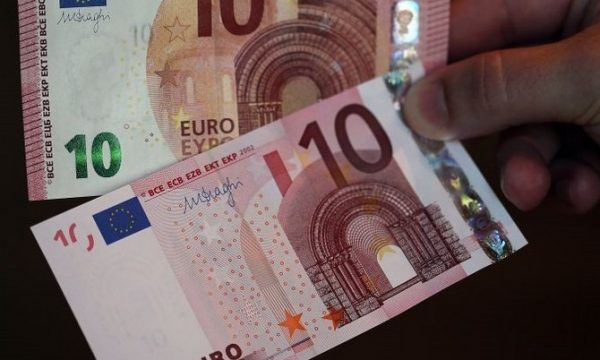 Banconote euro false: la situazione nel 2018
