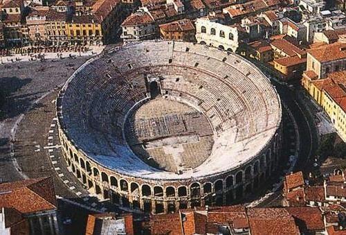 Trovata una moneta nell'arena di Verona