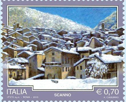 Italia, francobollo per Scanno (AQ)