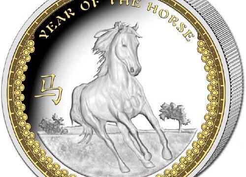 Palau, moneta per l'anno del Cavallo