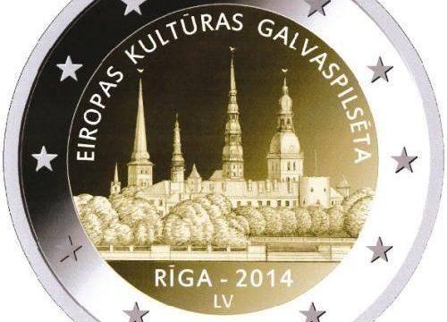 Lettonia, 2 euro commemorativo 2014