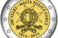 Malta, 2 euro commemorativo 2014 (polizia)