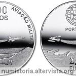 Portogallo, moneta per l'aviazione militare