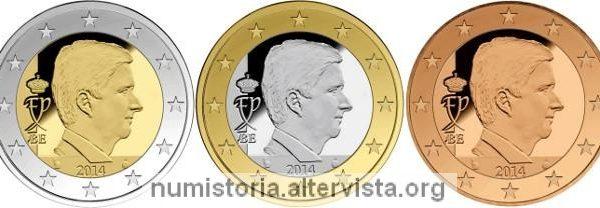 Belgio, programma numismatico 2018