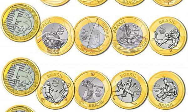 Brasile, 36 monete per Rio 2016