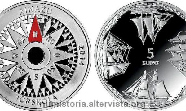 Lettonia, 5 euro per l'accademia navale