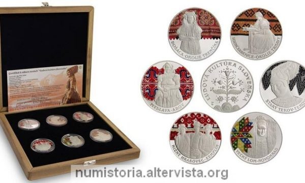 Slovacchia, medaglie per i costumi tradizionali