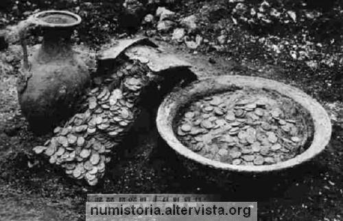Dorchester, un tesoretto di ventimila monete