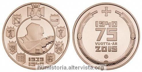 Finlandia, medaglia per la guerra d'inverno