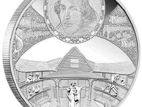 Tuvalu, 5 dollari per William Shakespeare