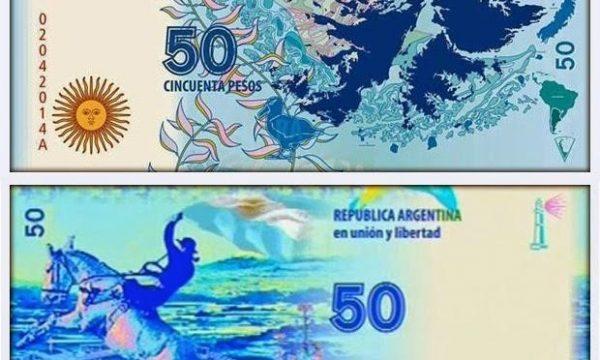 Argentina, nuova banconota per le Malvinas