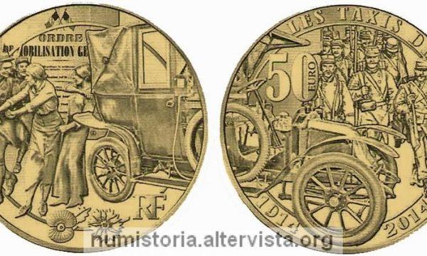Francia, quattro monete per i taxi della Marna