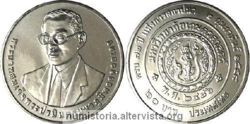 Thailandia, moneta per l'universita Kasetasrt