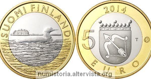 Finlandia, monete per la Karelia e il Savo