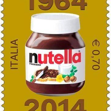 Francobollo per i 50 anni della Nutella
