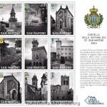 San Marino celebra i suoi nove castelli