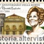 San Marino, francobolli per Renata Tebaldi