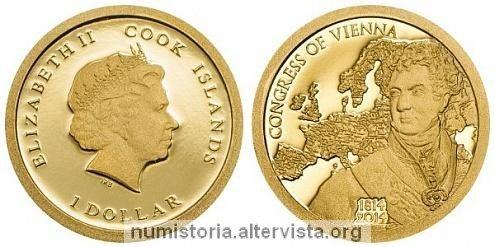 Cook, dollaro in oro per il Congresso di Vienna