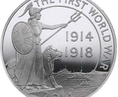 Gran Bretagna, quattro monete per la Grande Guerra