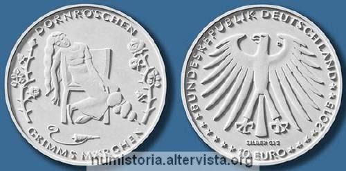 Germania, 10 euro per la bella addormentata