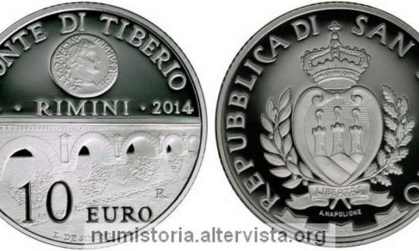 San Marino, 10 euro per il ponte di Tiberio